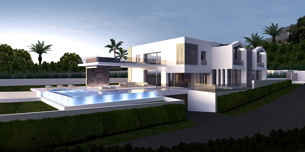 Luxury Villa For Sale Sierra Blanca Marbella Under Construction
